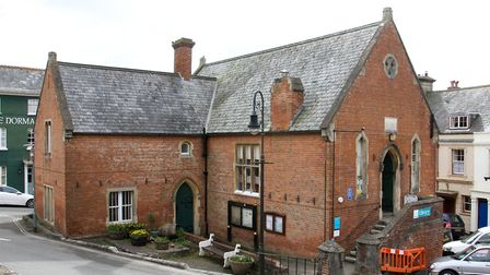 The old Town Hall building in Ottery. Ref sho 14-16TI 8476. Picture: Terry Ife