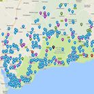 Explore our map of food hygiene ratings for businesses across East Devon. Image from Google Maps.