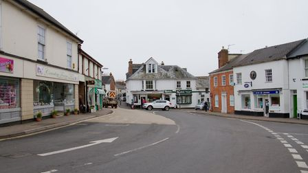 Ottery town. Ref sho 10-17TI 8336. Picture: Terry Ife