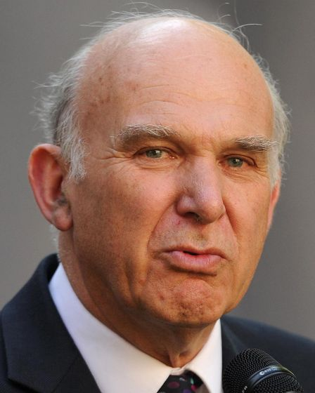 Business Secretary Vince Cable is in North Devon. Picture: Anthony Devlin/PA Wire.