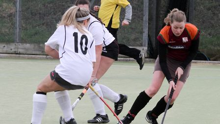 Sidmouth & Ottery ladies 1st team at home to Bridgewater. Ref shsp 09-16TI 1555. Picture: Terry Ife