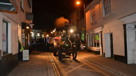 Scenes from Ottery's late night shopping and light switrch on. Credit: Phyllis Baxter