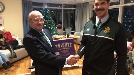 Sidmouth Chiefs have been awarded the Tribute Leagues Devon team of the month for November. Terry O'