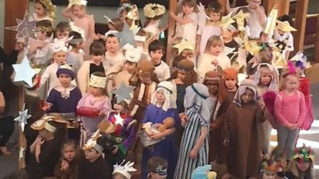 Sidmouth Primary School Reception class nativity play. Picture: Kirsty Hammond