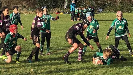 Action from the Sidmouth Under-10s meeting with Exmouth