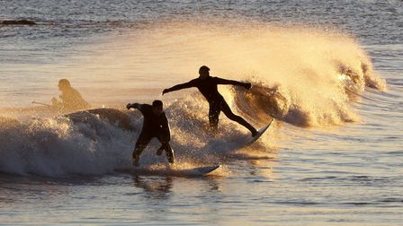 Surf's up! Picture by Eve Mathews.