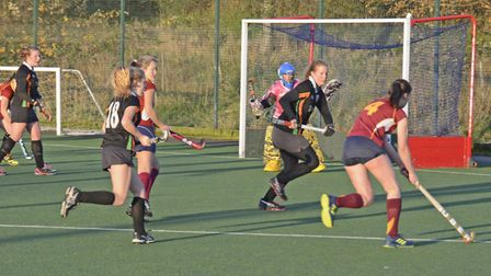 Sidmouth and Ottery Hockey Club ladies action