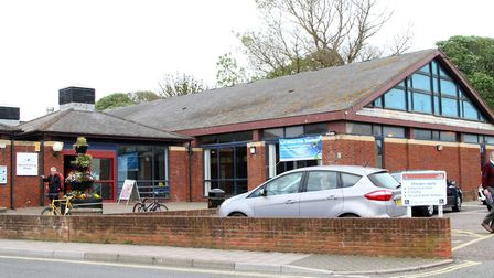The information centre shares a building with Sidmouth Swimming Pool. Picture: Alex Walton. Ref shs