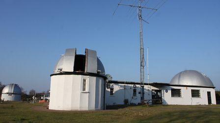 The Norman Lockyer Observatory. Picture: Simon Horn.