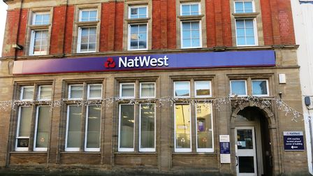 The NatWest Bank branch in Axminster which is to close next year. Picture: CHRIS CARSON