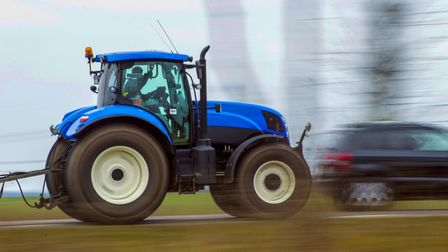 Sidmouth residents have spoken out about long tailbacks caused by tractors. Credit: Thinkstock