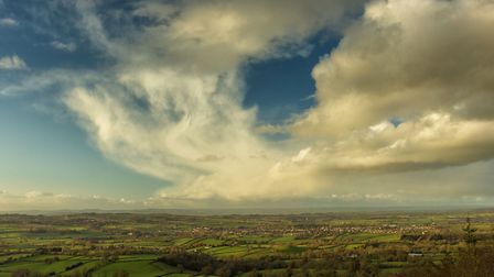 I had a lovely walk with my camera around Core Hill on Saturday. With views of Ottery St Mary from t