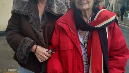 Brenda Cockett (left) and Prue Lambert started the Walk and Talk initiative in January, 2018, to pro