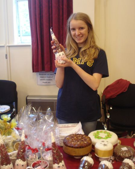 Charlotte Hadfield has been nominated in the Sid Valley Business Awards for her fundraising efforts