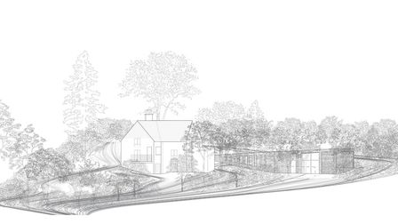 Plans for Rock House in Moorcourt Close