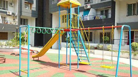 An example of the play equipment Hannah Vicarage hopes to see installed in Bombo, Uganda
