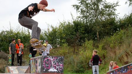 Ottery skate park festical. Ref sho 41-16TI 9360. Picture: Terry Ife