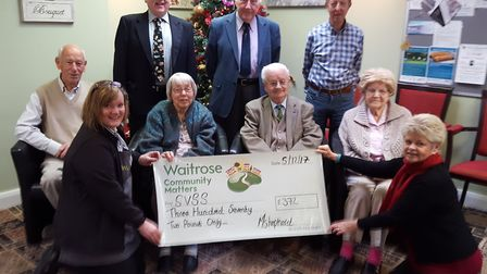 The isolation scheme at Waitrose gave a boost to Sidmouth Voluntary Services