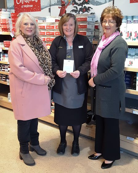 The isolation scheme at Waitrose gave a boost to the Newton Poppleford and Harpford Christmas Lunch