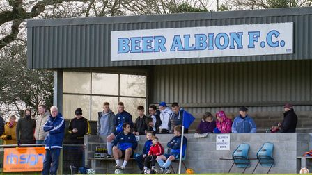 Beer Albion at home to Witheridge. Ref shsp 04-18TI 6601. Picture: Terry Ife