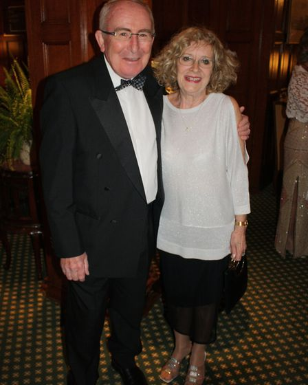 The Rotary Club of Sidmouth's 80th president's night dinner.