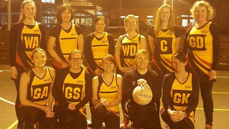 Honiton-based netball club Honeyz are photographed sporting their new kit which has been kindly spon
