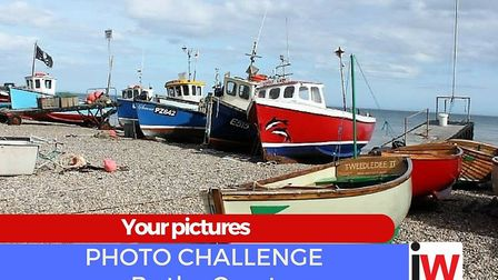Photo challenge gallery - 'By the Coast'. Picture: Ed Dolphin - Fishing boats at Beer