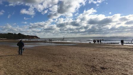 Beautiful February day at Exmouth beach. Picture: Sue Babb