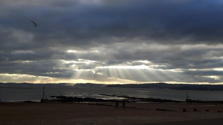 Veiw from Orcombe Point across the bay. Picture: Chris Reeby