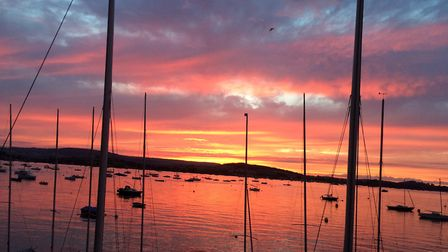 Sunset in Exmouth. Picture: Laura Case