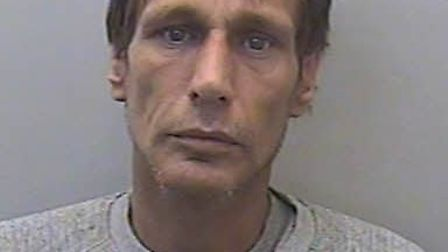 Gary Butler has been jailed for ramming two police cars as he tried to escape from a drugs bust.