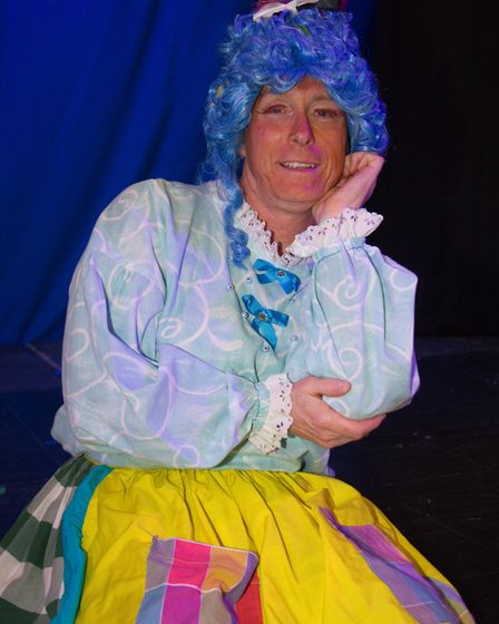Ottery Community Theatre's production of Jack and the half baked beanstalk. Ref sho 04 18TI 6804. Pi