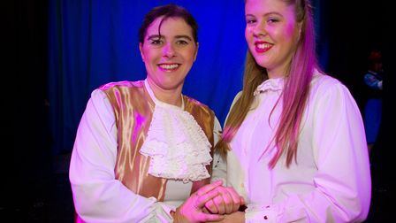 Ottery Community Theatre's production of Jack and the half baked beanstalk. Ref sho 04 18TI 6796. Pi