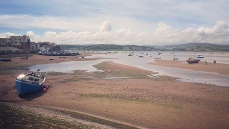 A nice run from Topsham to Exmouth last Summer followed by this fantastic picture of the bay around
