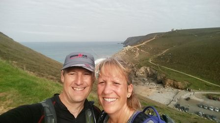Guy and Tracey Paddon are pulling on their running shoes to raise money for Tar Barrels.