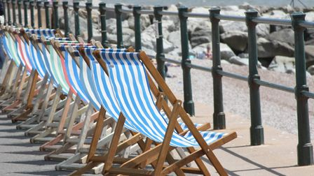 You can bid to take over the concession of Sidmouth's iconic deckchairs