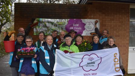 Members of Sidmouth in Bloom are appealing for residents and businesses to back its campaign to tidy