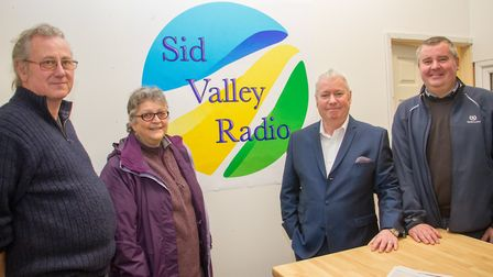 Sid Valley Radio's official launch. Ref shs 10 18TI 9119. Picture: Terry Ife