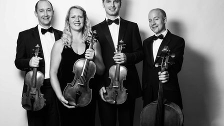 The Tippett String Quartet will perform in Sidmouth on March 17.