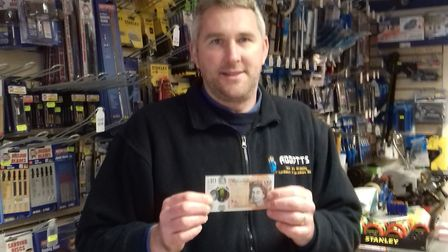 Chris Abbott co-owner of Abbotts says the shop will accept the old £10 notes until after Easter.