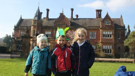 Sidbury Primary School children took part in a sponsored walk and run to raise money for their schoo