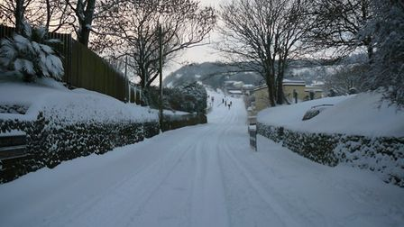 Scenes around Sidmouth today. Picture: Swann Inn