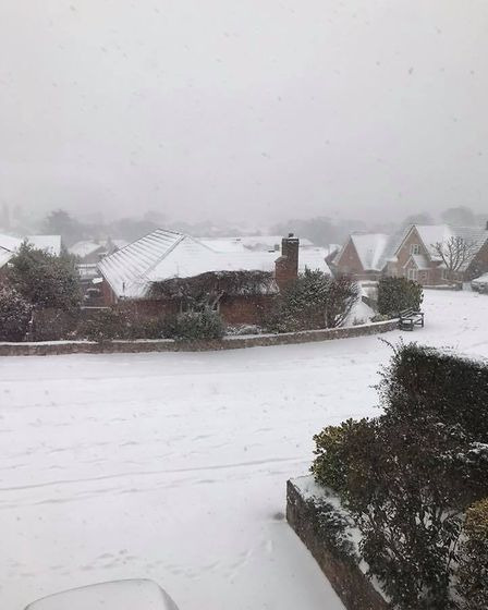 The scene today at The Balfours. Picture: Vanessa Ackford