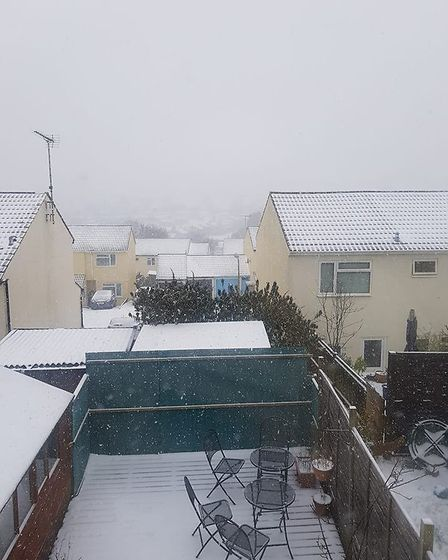 It's a snow day at Ladymead too. Picture: Pippa Grant