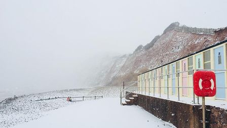 Down by the huts. Picture: Louise Thompson