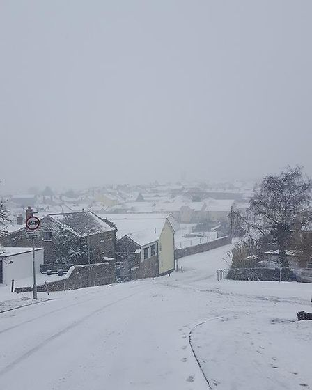 View from Honiton. Picture: Kirsty Parker