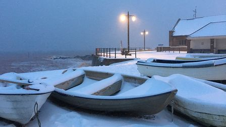 Sarah Sleigt took these impressive shots down at Sidmouth seafront.