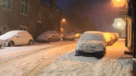 Ref sho 09 18 ottery in snow 1524. Picture: Dawn Russell
