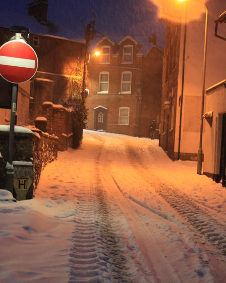 Ref sho 09 18 ottery in snow 1521. Picture: Dawn Russell