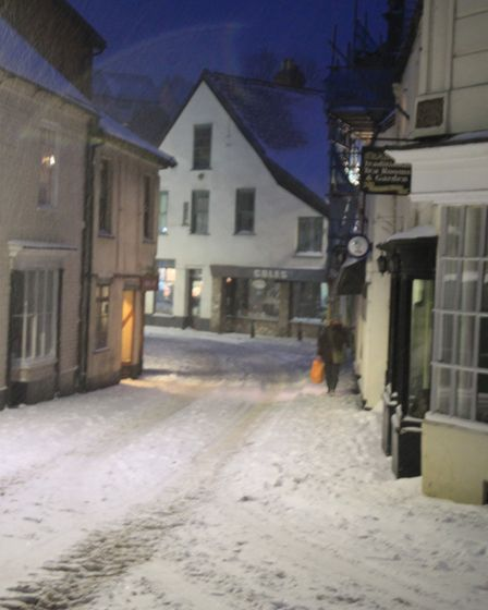 Ref sho 09 18 ottery in snow 1520. Picture: Dawn Russell